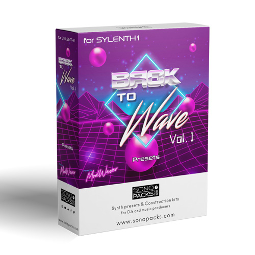 box Sono Packs Back To Wave1 presets soundset sylenth synthwave