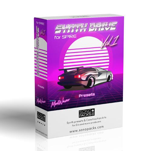 box Sonopacks synth drive 1 soundsets spire music producer vsti