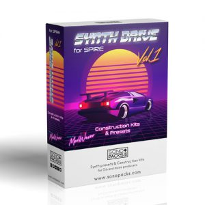patch Sonopacks synth drive 1 sounds kits spire vst synth music