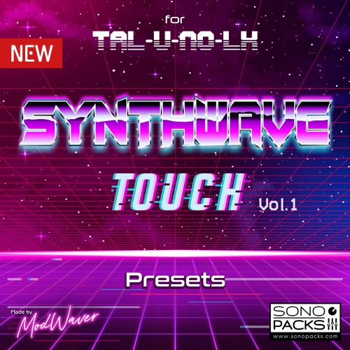 Synthwave Touch 80s construction kits TAL u no lx
