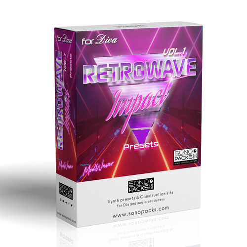 Retrowave Impact 1 Diva synth Presets