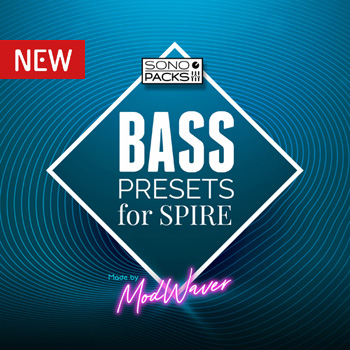 Bass presets for Spire VST synth